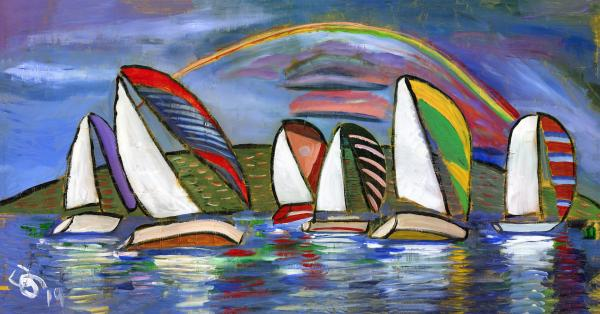 Rainbow Regatta Three