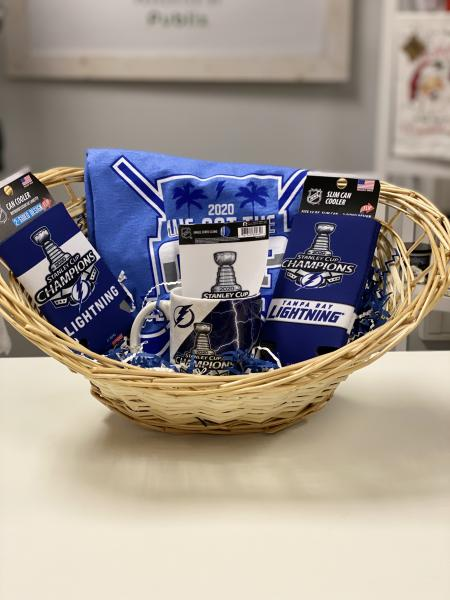 Tampa Bay Lightning Basket