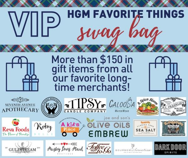 HGM Favorites VIP Swag Bag