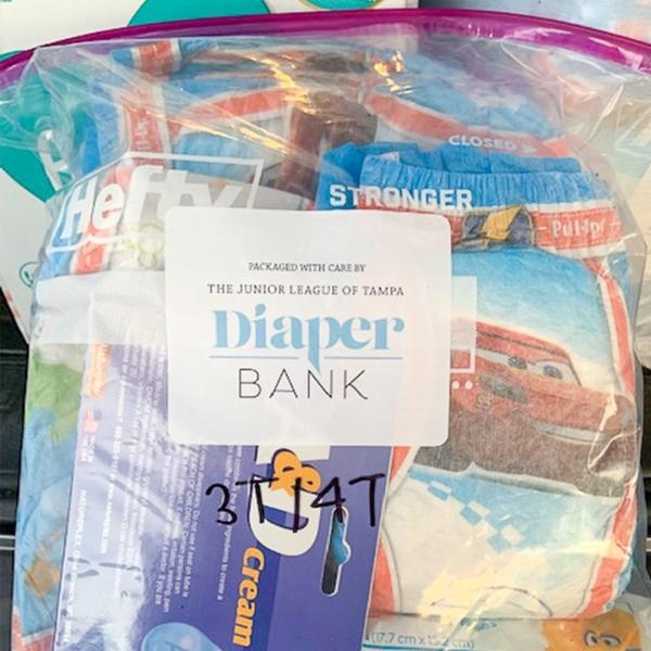 Diaper Bank Packing Party