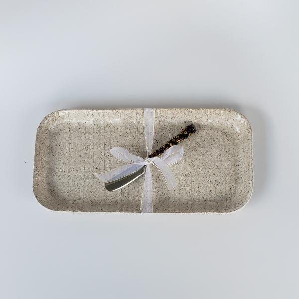 76733 - Cheese Tray with Knife #2
