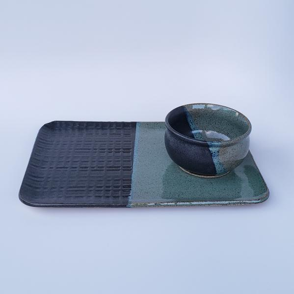 7672 - Large Platter and Small Matching Bowl #2