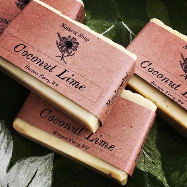 5376 'Coconut Lime' Soap