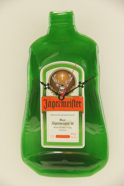1.5L Jagermeister Bottle Clock