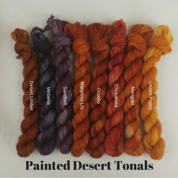 Painted Desert: Desert Poppy - Mimi Fingering
