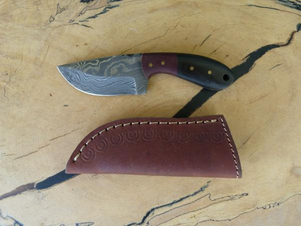 Custom Damascus Knife 27