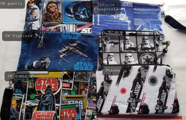 Pouches/Wristlets (Star Wars/Star Trek)