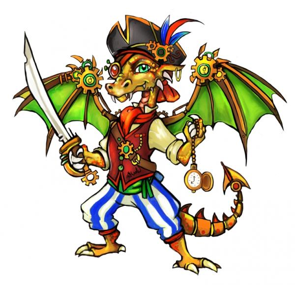 Pirate-Dragon