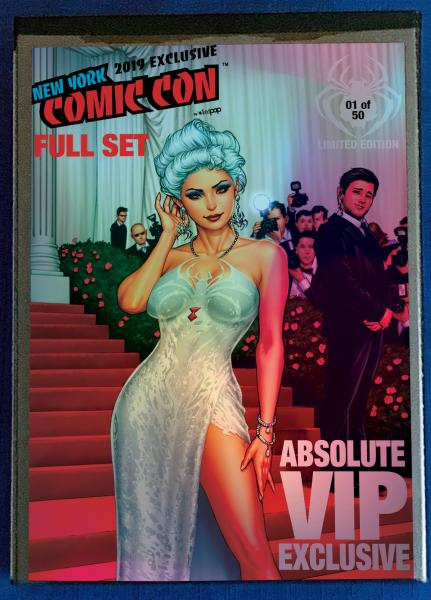 Absolute VIP Exclusive NYCC 2019 Full Set Folio