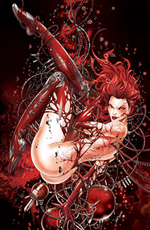 White Widow #3Y - BLOODY RISQUE - METAL