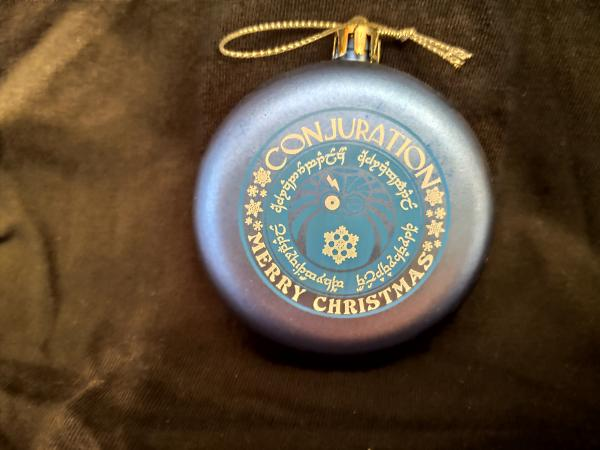CONjuration Christmas Ornament - Logo picture