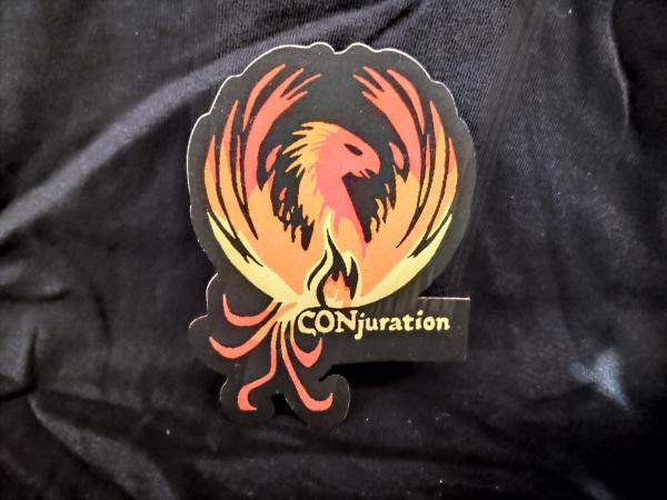 CONjuration Iron-On Patch - Phoenix