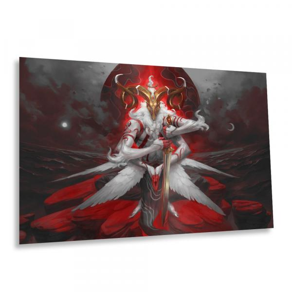 Malahidael, Angel of Aries  - Premium Metal Print
