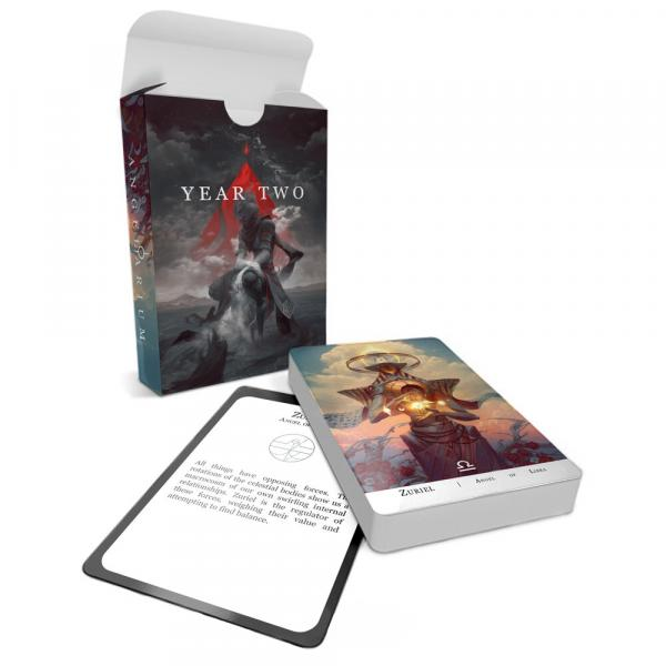 Angelarium: Year Two - Collectable Card Deck