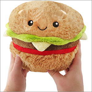 "Squishable Hamburger (7"")"