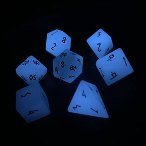 Norse Foundry Gemstone Dice : Standard polyhedral dice sets made from amazing materials.