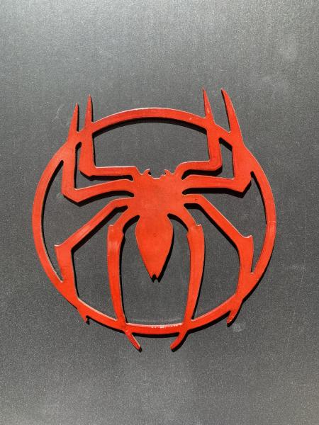 Spider-Man Metal Art, Small Red