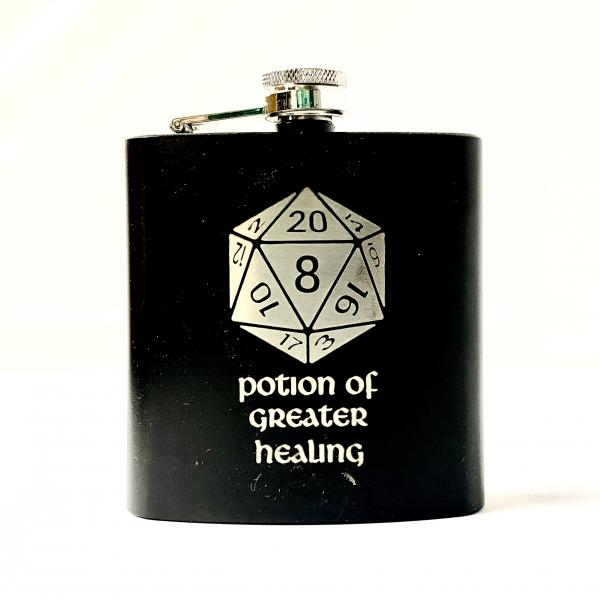 Potion of Greater Healing 6oz Flask
