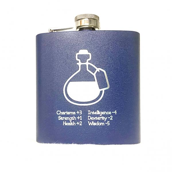 D&D Attributes flask