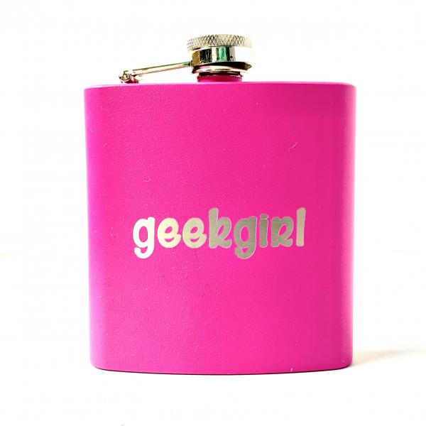 Geek Girl Flask