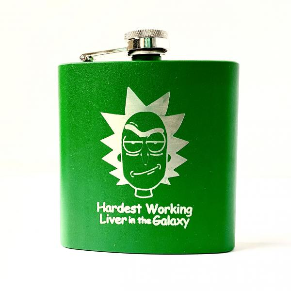 Hardest Working Liver Flask