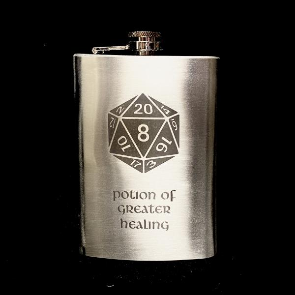 Potion of Greater Healing 8oz Flask