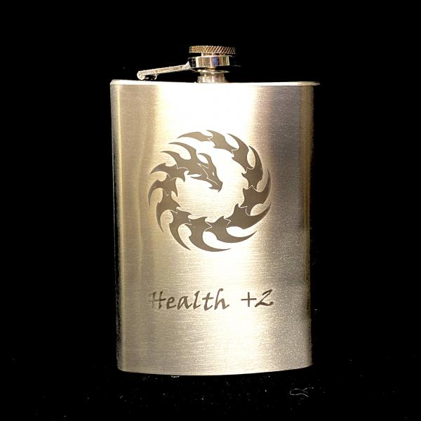 Health +2 8oz Flask picture