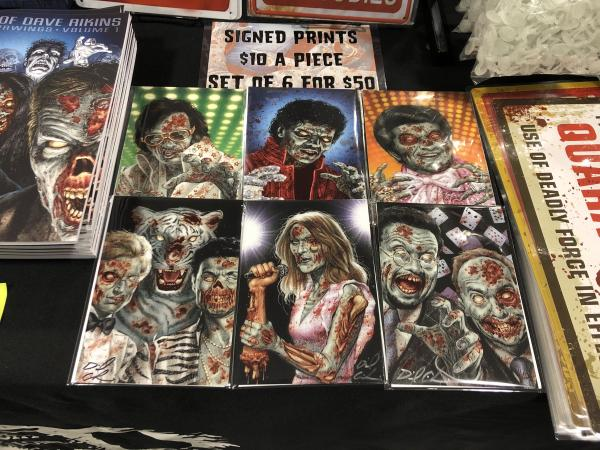 Signed Zombies Vegas Prints