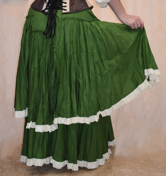 Pirate Wench Style Skirt