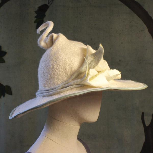 White Witch Hat