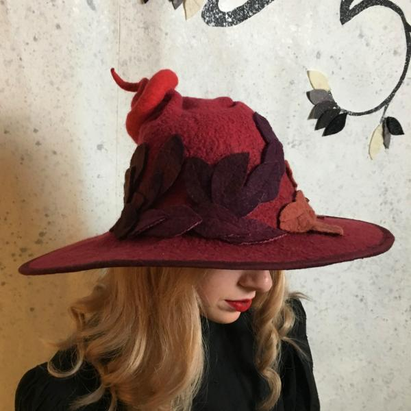 Fancy Witch or Wizard in Reds