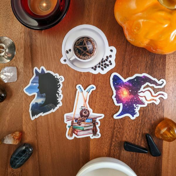 Witchy Stickers