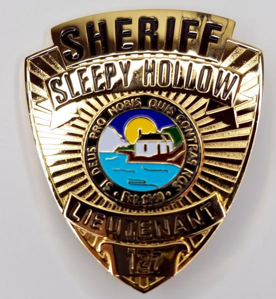 Sleepy Hollow TV Series Sheriff Prop Badge w/Holder