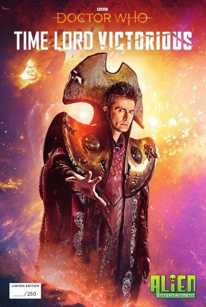Doctor Who: Time Lord Victorious #1 (With Alien Entertainment Exclusive Cover)