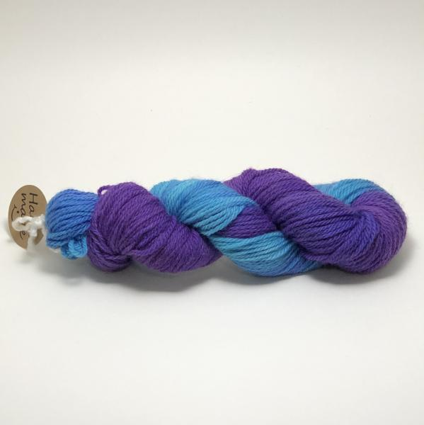 USA Grown Wool Yarn, Worsted, Superwash, Hand Dyed, Indie Dyed picture