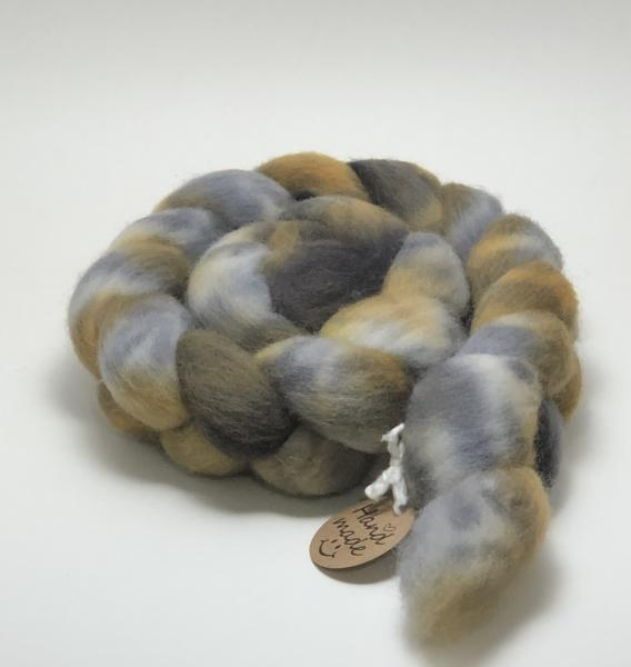 Fine Wool Blend Combed Top/Roving, Hand Painted, Hand Dyed, Indie Dyed