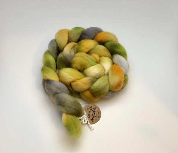 Polwarth Combed Top/Roving, Hand Dyed, Indie Dyed picture
