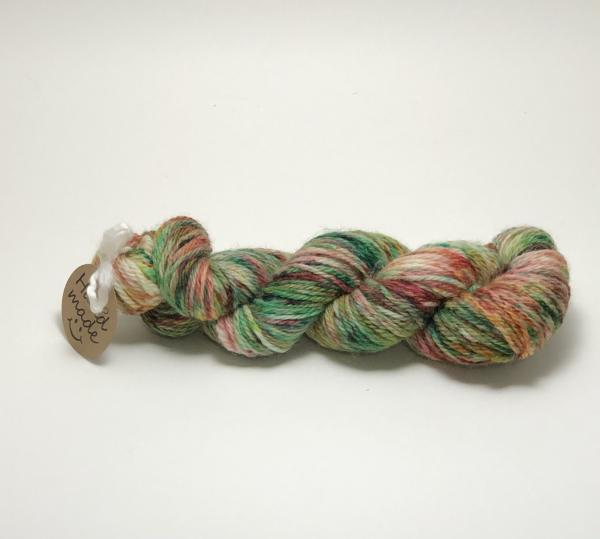 Superwash USA Wool Yarn, Worsted Weight, Hand Dyed, Indie Dyed