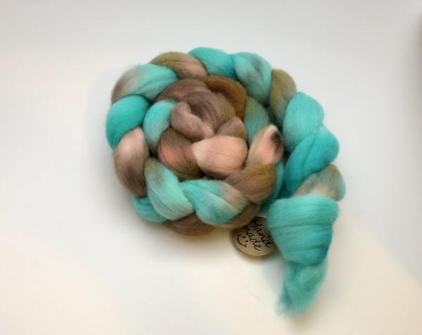 Polwarth Combed Top/Roving, Hand Painted, Hand Dyed, Indie Dyed picture