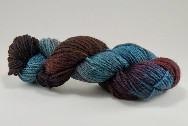 USA Superwash Wool Yarn, Worsted Weight, Hand Dyed, Indie Dyed picture