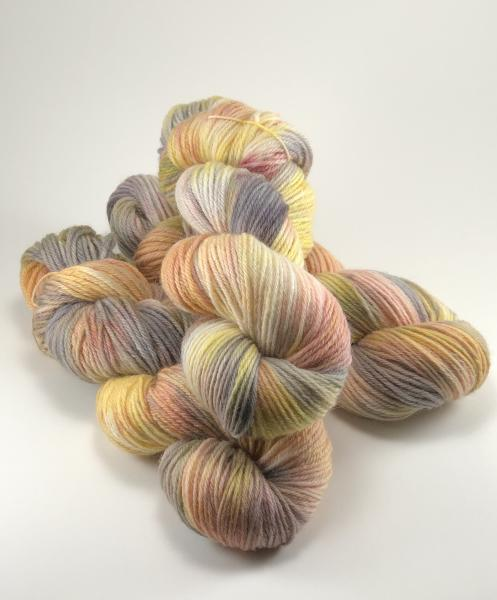 Peruvian Highland Wool, Worsted Weight, Hand Painted, Hand Dyed, Indie Dyed