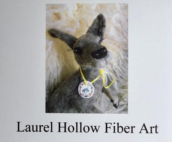 Laurel Hollow Vines and Fiber Art