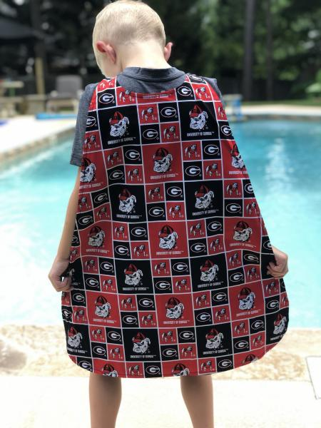 Georgia Bulldogs Superhero Cape