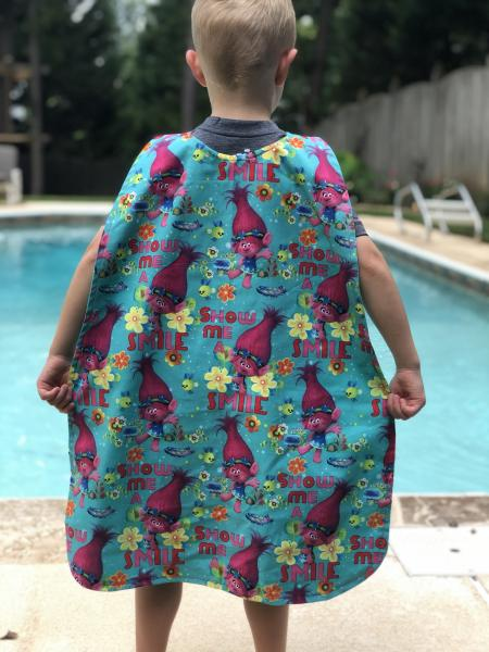 Trolls Superhero Cape