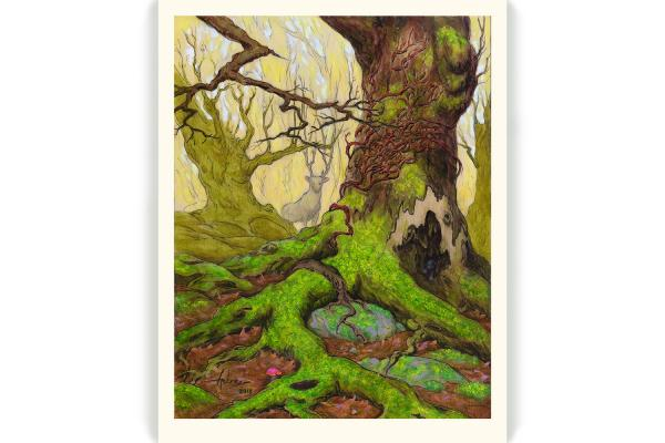 """Root and Branch"" limited edition print"