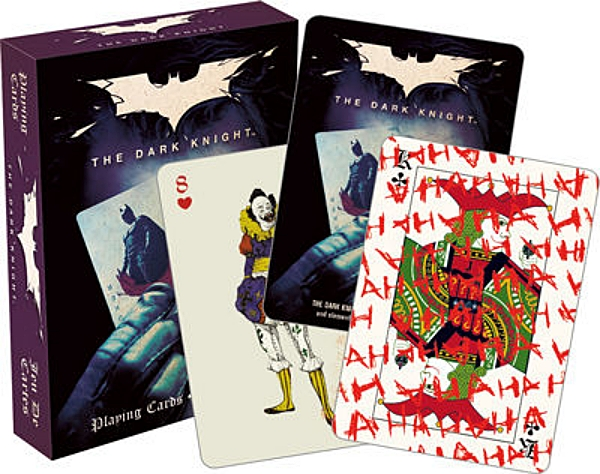 DC Comics The Dark Night Joker Comic Art Poker Playing Cards NEW SEALED picture