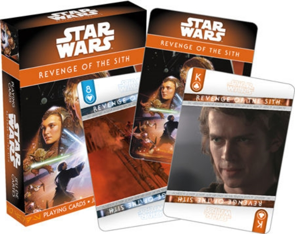 Star Wars Episode III: Revenge of the Sith Photo Illustrated Playing Cards Deck picture