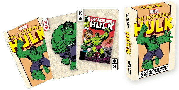 The Incredible Hulk Comic Art Illustrated Poker Playing Cards Deck, NEW SEALED