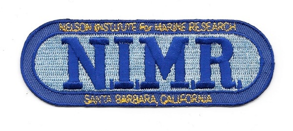 Voyage to the Bottom of the Sea NIMR Name Logo Embroidered Patch NEW UNUSED picture