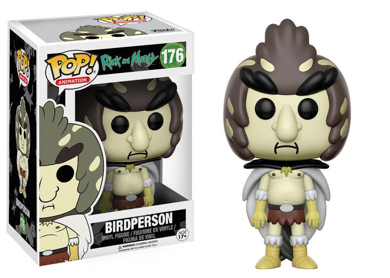 Rick and Morty TV Series Birdperson Figure Vinyl POP! Figure Toy #176 FUNKO MIB picture